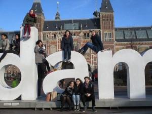 友人とオランダ旅行