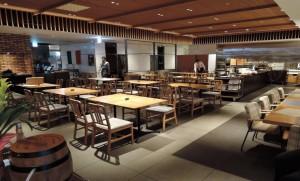 1Fレストラン「ボンサルーテKABUKI」