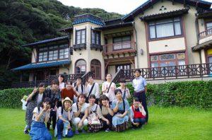 最後に鎌倉文学館を見学しました